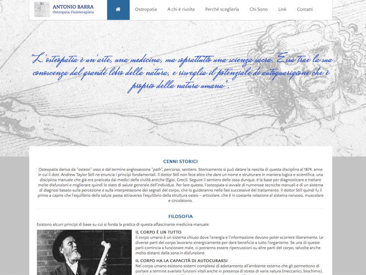 www.antoniobarra.it