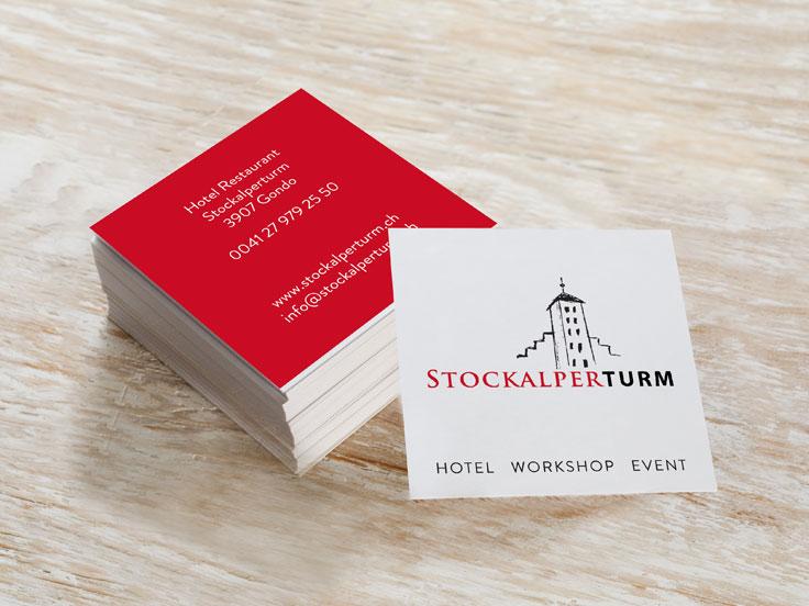 Biglietti da Visita Hotel - Svizzera