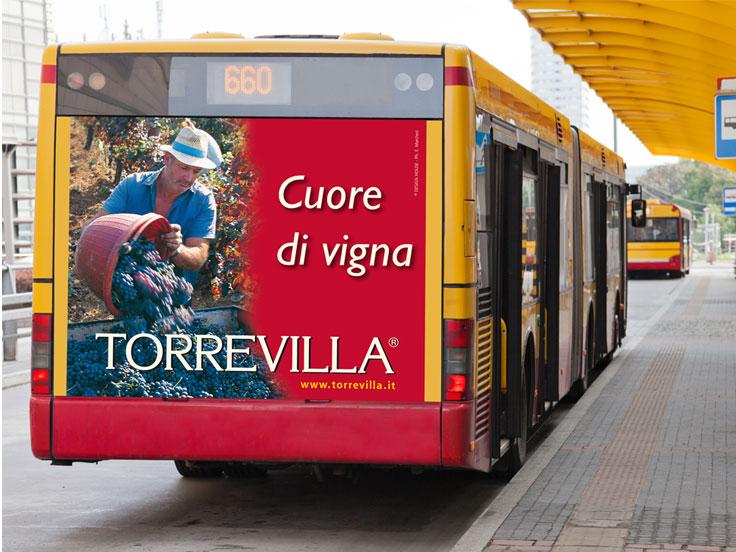 Pubblicità su Bus